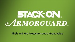 Stack-On Armorguard Fire Resistant Long Gun Safes