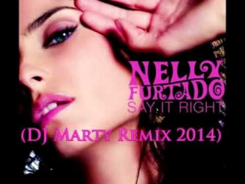 Nelly Furtado ft. Timbaland - Say It Right (DJ Marty Deep House Remix 2014)
