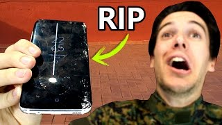 Test de CUCHILLO y CAIDAS Samsung Galaxy S8 - Prueba de destrucción!