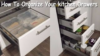 (4.83 MB) How To Organize Your Kitchen Drawers- Kitchen Drawer Organization  (Kitchen Organizing Ideas) Mp3