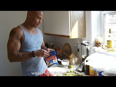 """Low Carb Bodybuilding Building Breakfast Meal"" Burn Fat and Build Muscle (Big Brandon Carter)"