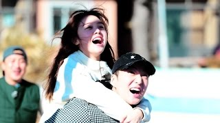 Winner Seungyoon piggybacks Minah - A Successful Inner Circle Indeed