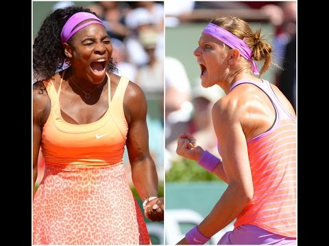 Serena Williams vs Lucie Safarova Highlights HD Roland Garros 2015
