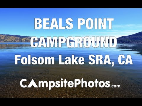 beals point campground folsom lake state recreation area california campsite  youtube