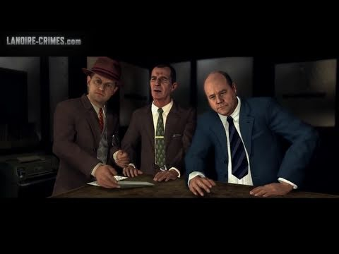 LA Noire - Walkthrough - Mission #10 - The Silk Stocking Murder (5 Star)