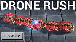 StarCraft 2: DEFENDING A DRONE RUSH!
