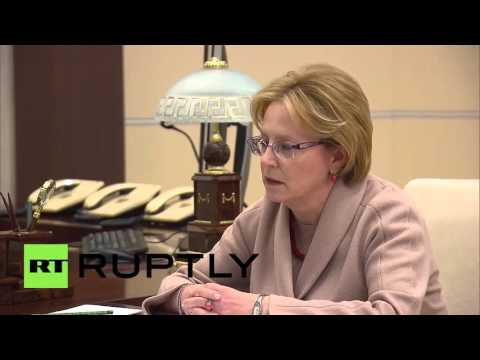 Russia: Health Min. Skvortsova briefs Putin on 2015 progress, 2016 plans