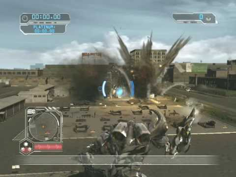 Transformers 2: Revenge of the Fallen Free Roam Gameplay with Megatron