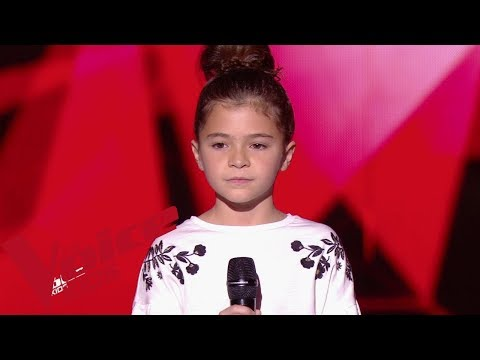 Madame Monsieur - Mercy | Matilda |  The Voice Kids France 2019 | Blind Audition