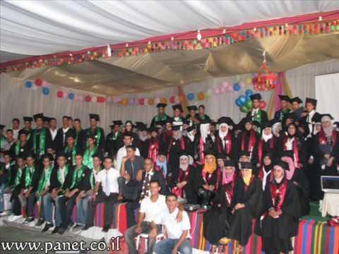 حورة  مدرسة عتيد النور الثانوية   حفلة تخريج  الفوج الثالث 2009