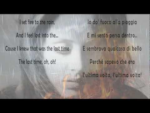 Adele – Set fire to the rain Testo originale e traduzione in italiano
