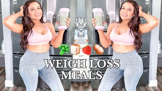 WHAT I EAT IN A DAY TO LOSE WEIGHT | HEALTHY AND EASY MEAL IDEAS 2020