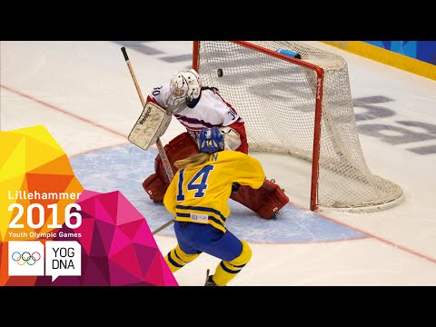 Ice Hockey - Women's Gold Medal Match - Full Replay | Lillehammer 2016 Youth Olympic Games