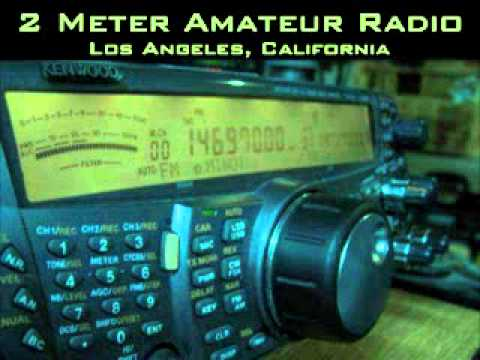 Ted KC6PQW and Sue KD6UVD fight - part 1 of 2 - 147.435 repeater ham radio