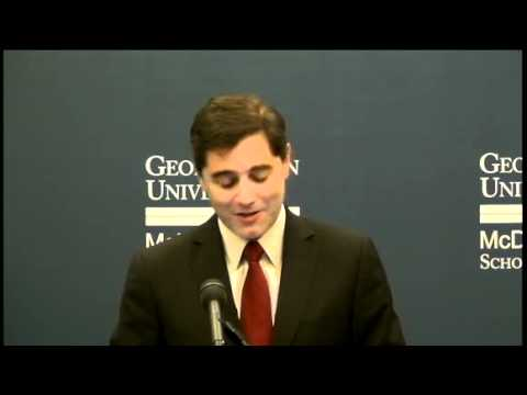 Chairman Genachowski's Remarks at the Georgetown Center for Business and Public Policy