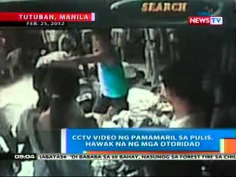 NTG: EXCLUSIVE: CCTV video ng pamamaril sa Pulis sa Tutuban, hawak na ng mga otoridad (022812)