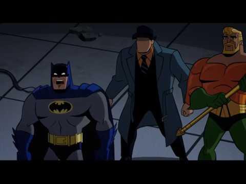 Красный Плащ против Бэтмена,Аквамена,Вопроса и Команды Скуби Ду  ч1