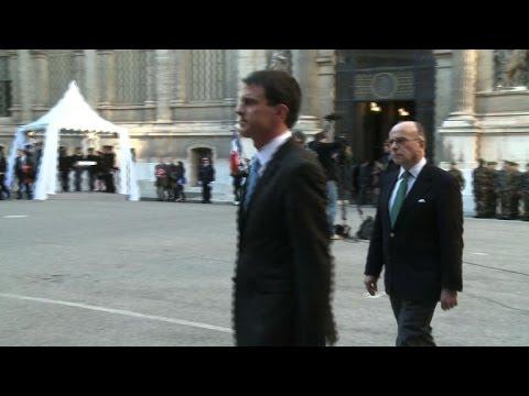Sécurité: visite de Manuel Valls à Marseille