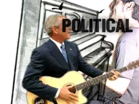 NOT A POLITICAL SONG by Holmes. Farewell George Bush Video