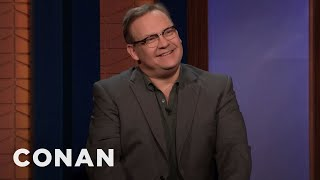 "Andy's New Podcast ""The Three Questions With Andy Richter"" Is #1 - CONAN on TBS"