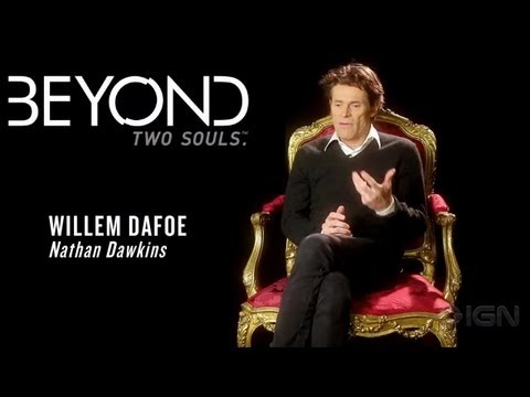 Beyond: Two Souls - Introducing Willem Dafoe