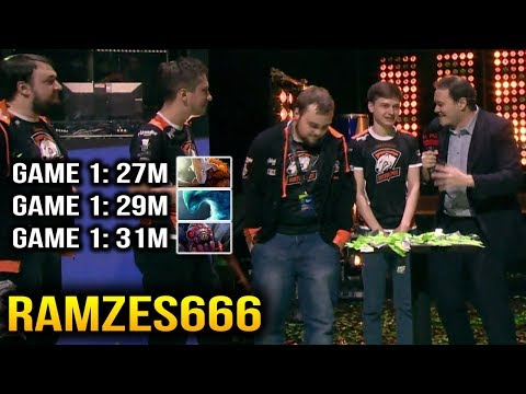 Ramzes666 Grand Finals 3 Games, All in under 30 Minutes Dota 2