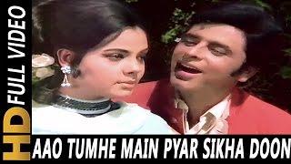 Aao Tumhe Main Pyar Sikha Doon Mohammed Rafi Lata Mangeshkar Upaasna 1971 Sanjay Khan Mumtaz