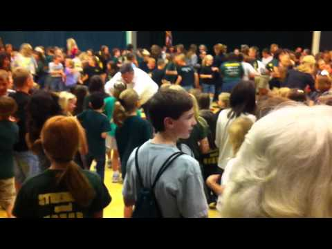 Chicken Dance at Legacy Christian Academy