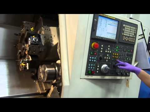 Doosan Daewoo Puma 2000SY CNC Lathe with Live Tool and Sub Spindle and Y Axis (2006)