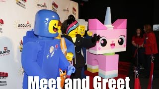 Meet Unikitty, Benny, and Risky Business at LEGOLAND Florida for LEGO Movie 4D Weekends