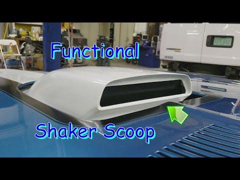 1970 Trans Am Functional Shaker Scoop