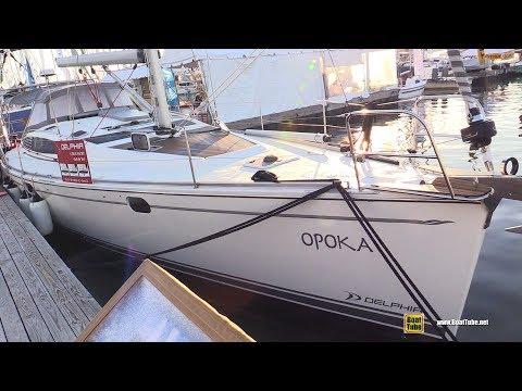 2017 Delphia 47 Sailing Yacht - Deck and Interior Walkaround - 2017 Annapolis Sail Boat Show