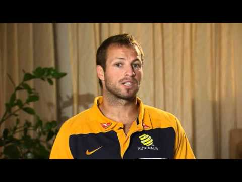 Lucas Neill invites you to see the Socceroos