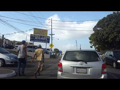 GPS guided in Mandeville Jamaica - Wint Road, Ward Avenue,Caledonia Rd, South Race Course Road