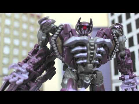 TRANSFORMERS 3 in LEGO Toy Figure Animation! - Dark of The Moon...