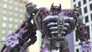 TRANSFORMERS 3 in LEGO Toy Figure Animation! - Dark of The Moon Stop Motion Spoof!