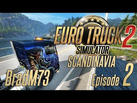 Euro Truck Simulator 2 - Scandinavia DLC - Episode 2 - w/ 1.18 Beta!!!! MERCEDES!!