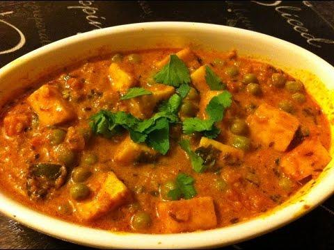 Green Peas Paneer Curry | Mattar Paneer | Aaha Emi Ruchi