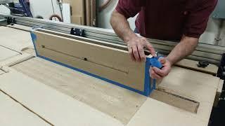 Floating shelves - CNC miter fold