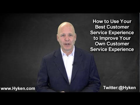 Your Very Best Customer Service Experience
