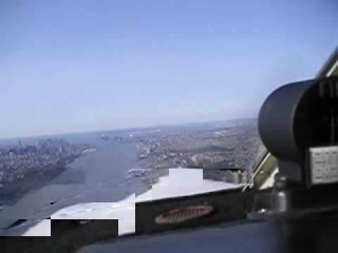 NYC - Flying Hudson River Southbound