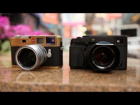 Fujifilm X-Pro1 vs Leica M9 (M8) - On The Streets