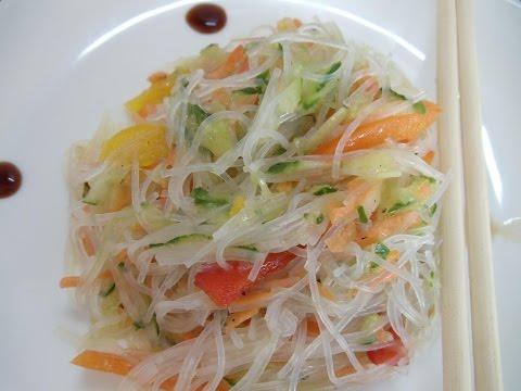 Салат Фунчоза Как приготовить Фунчозу Азиатская кухня
