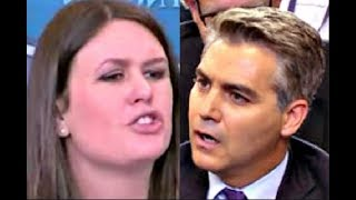 Sarah Furiously responds to CNN Jim Acosta