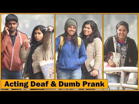 Gunga Aur Behra Prank Firse | Deaf & Dumb | Prank In India | The HunGama Films