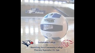 Lackawanna College Women's Volleyball vs Harrisburg Area Community College