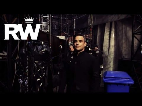 Robbie Williams - Take That Progress Live 2011 - Sunderland Preview Clip