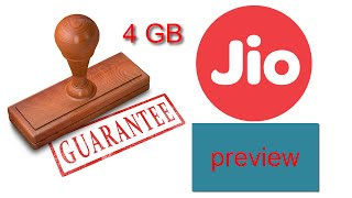 5th method to use jio more than 4GB {get back guarantee of jio preview offer} √√