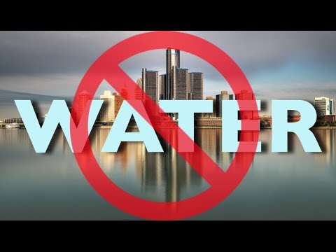 Detroit is Cutting Off Water to 150,000 Residents