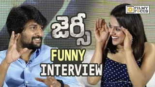Nani and Shraddha Srinath Funny Interview about Jersey Movie Success - Filmyfocus.com